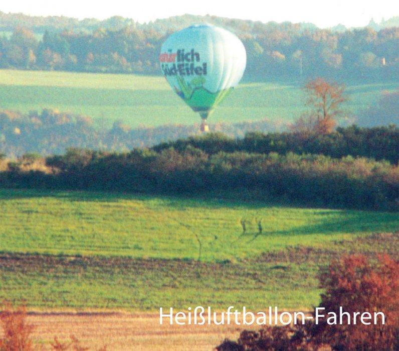 Heißluftballon-Fahren