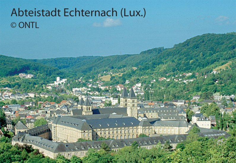 Abteistadt Echternach (Lux)